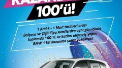 Kipa AVM BMW 1.18 İ Çekilişi