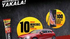 Nescafe Mercedes ve Samsung Galaxy Note 9 Çekilişi