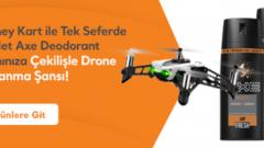 Migros Axe Drone Çekilişi