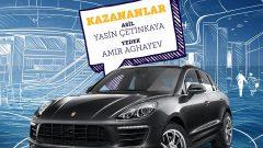 İstMarina AVM Porsche Macan Çekiliş Sonucu