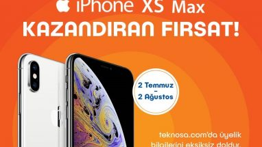 Teknosa iPhone XS Max Çekilişi