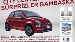 City Center Outlet Fiat 500 Çekilişi