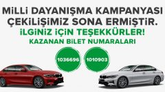 Bilyoner BMW Çekiliş Sonucu