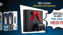 """Watsons """"Arko Men"""" PS4 Çekiliş Sonucu"""