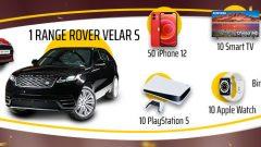 Nesine.com Range Rover Çekilişi (Galatasaray)