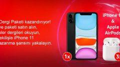 Vodafone dMags Dergi iPhone 11 Çekiliş Sonucu
