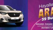 39 Burda AVM Peugeot Çekilişi