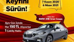 Beylikdüzü Migros AVM BMW Çekilişi