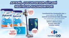 CarrefourSA Aptamil iPhone 12 Çekilişi