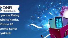 QNB Finansbank iPhone 12 Çekilişi